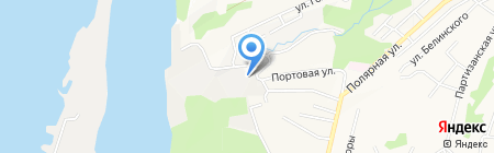 Промсервис ДВ на карте Хабаровска