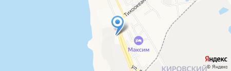 СТРОЙКИН на карте Хабаровска