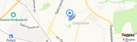 Хабаровская ассоциация вскрытия замков и дверей на карте Хабаровска