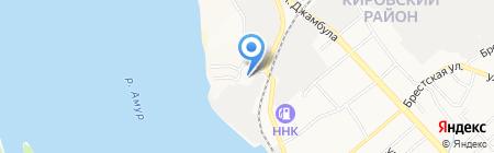 Витрина на карте Хабаровска