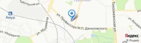 Алиса на карте Хабаровска