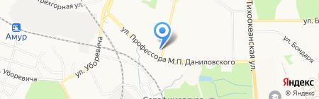 Мария на карте Хабаровска