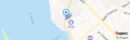 Тори motors на карте Хабаровска