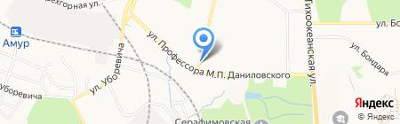 Свежее мясо на карте Хабаровска