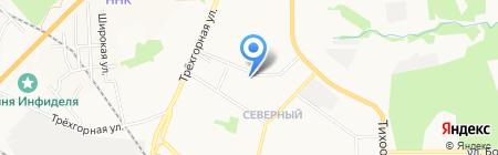 Женская консультация Краснофлотского района на карте Хабаровска