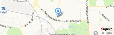 ЗАГС Администрации г. Хабаровска на карте Хабаровска