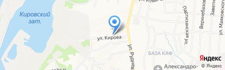 Оксана на карте Хабаровска