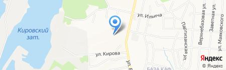 Амур-Санфэн на карте Хабаровска