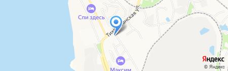 ИВА на карте Хабаровска