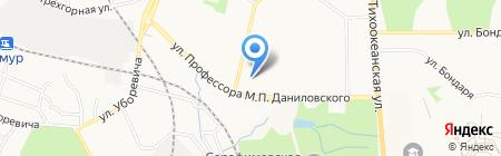 Вобла на карте Хабаровска