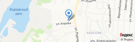 Голиаф на карте Хабаровска
