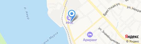 Кировский районный суд г. Хабаровска на карте Хабаровска