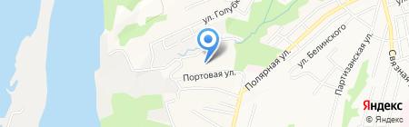 Детский сад №133 на карте Хабаровска