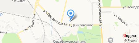 Восточный экспресс банк на карте Хабаровска
