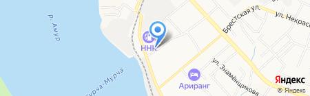 Радуга талантов на карте Хабаровска