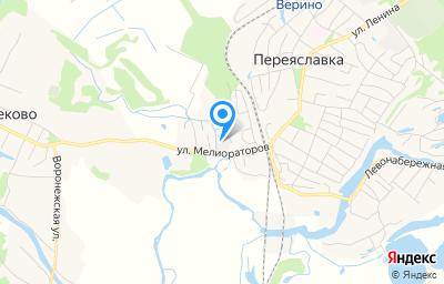 Местоположение на карте пункта техосмотра по адресу Хабаровский край, рп Переяславка, ул Мелиораторов, д 10А литер в