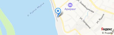 Ардис на карте Хабаровска