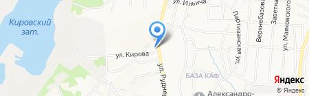Коллегия адвокатов Краснофлотского района на карте Хабаровска