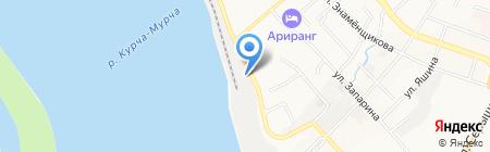 Плавмагазин на карте Хабаровска