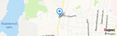 Колобок на карте Хабаровска