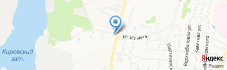 Отделение почтовой связи №18 на карте Хабаровска