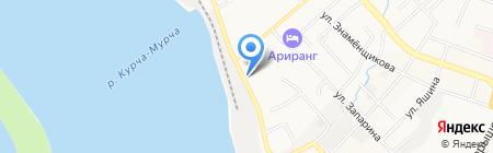 Банкомат Банк Москвы на карте Хабаровска