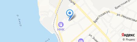 Хабаровский краевой институт развития образования на карте Хабаровска