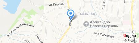 Сокол на карте Хабаровска