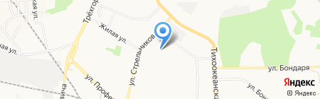 Детский сад №202 на карте Хабаровска