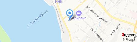 Центр подготовки персонала им. И.Н. Долженко на карте Хабаровска