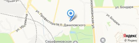 Ход конем на карте Хабаровска