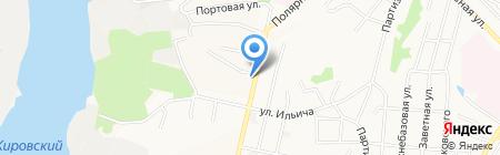 Отдел полиции №11 на карте Хабаровска
