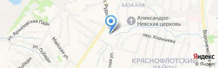 СУТАРА на карте Хабаровска
