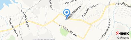 Ателье по пошиву и ремонту одежды на Автобусной на карте Хабаровска