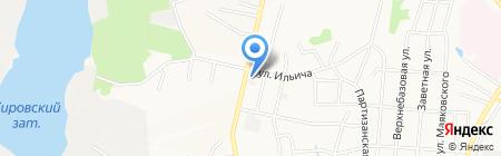 Магазин стройматериалов на карте Хабаровска