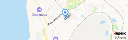 Инженерные технологии на карте Хабаровска