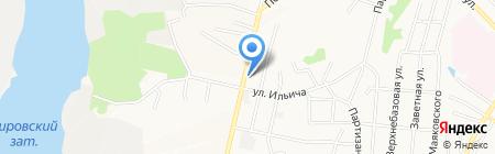 Стиль студио на карте Хабаровска
