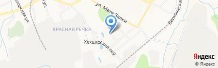 Средняя общеобразовательная школа №83 на карте Хабаровска