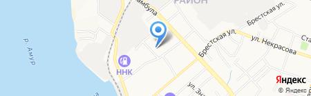 Стоматологическая поликлиника №19 на карте Хабаровска