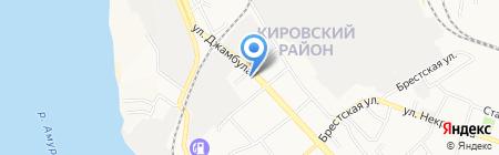 Государственная инспекция по надзору за техническим состоянием самоходных машин и других видов техники на карте Хабаровска