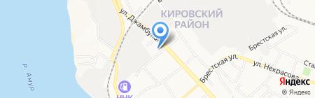 Средняя общеобразовательная школа №3 на карте Хабаровска