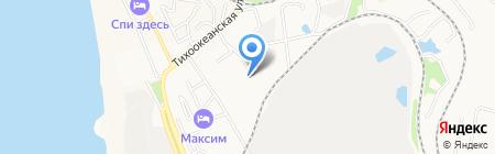 Фрост Лайн на карте Хабаровска