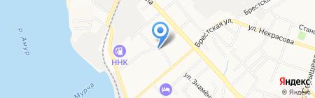 Мандарин на карте Хабаровска