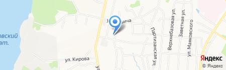 Рандеву на карте Хабаровска