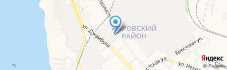 РВД-ДВ на карте Хабаровска