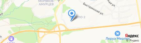 Смарт Экспресс на карте Хабаровска