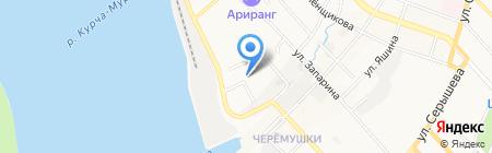 Альтаир на карте Хабаровска