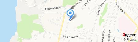 Отдел судебных приставов по г. Хабаровску на карте Хабаровска