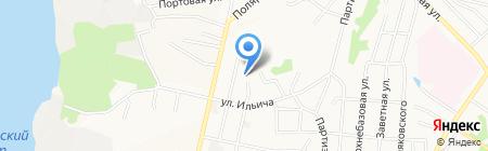 Военно-морской лицей им. адмирала флота Н.Д. Сергеева на карте Хабаровска