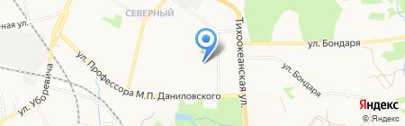 Детский сад №192 на карте Хабаровска
